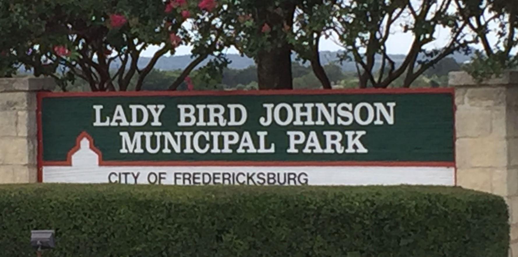Lady Bird Johnson Municipal Park Campground   Fredericksburg, TX