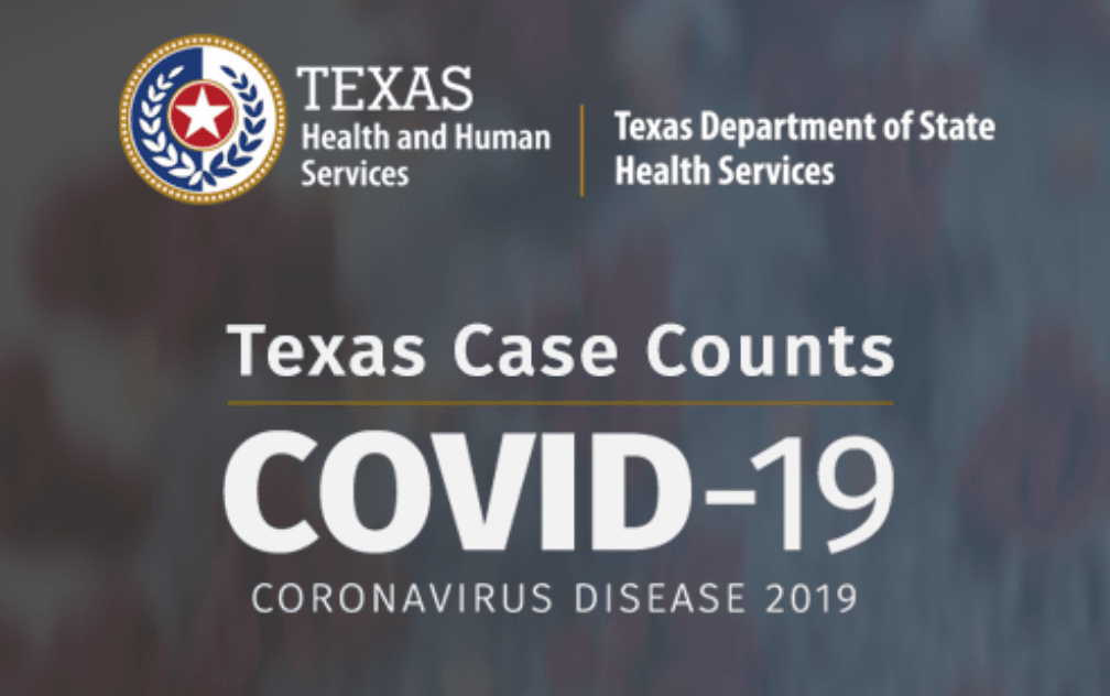 Texas COVID-19 Case Counts