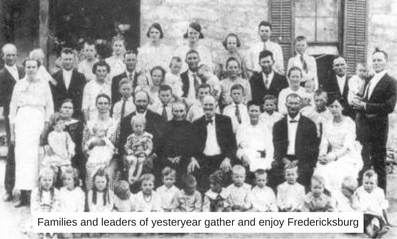 Families and leaders of yesteryear gather and enjoy Fredericksburg