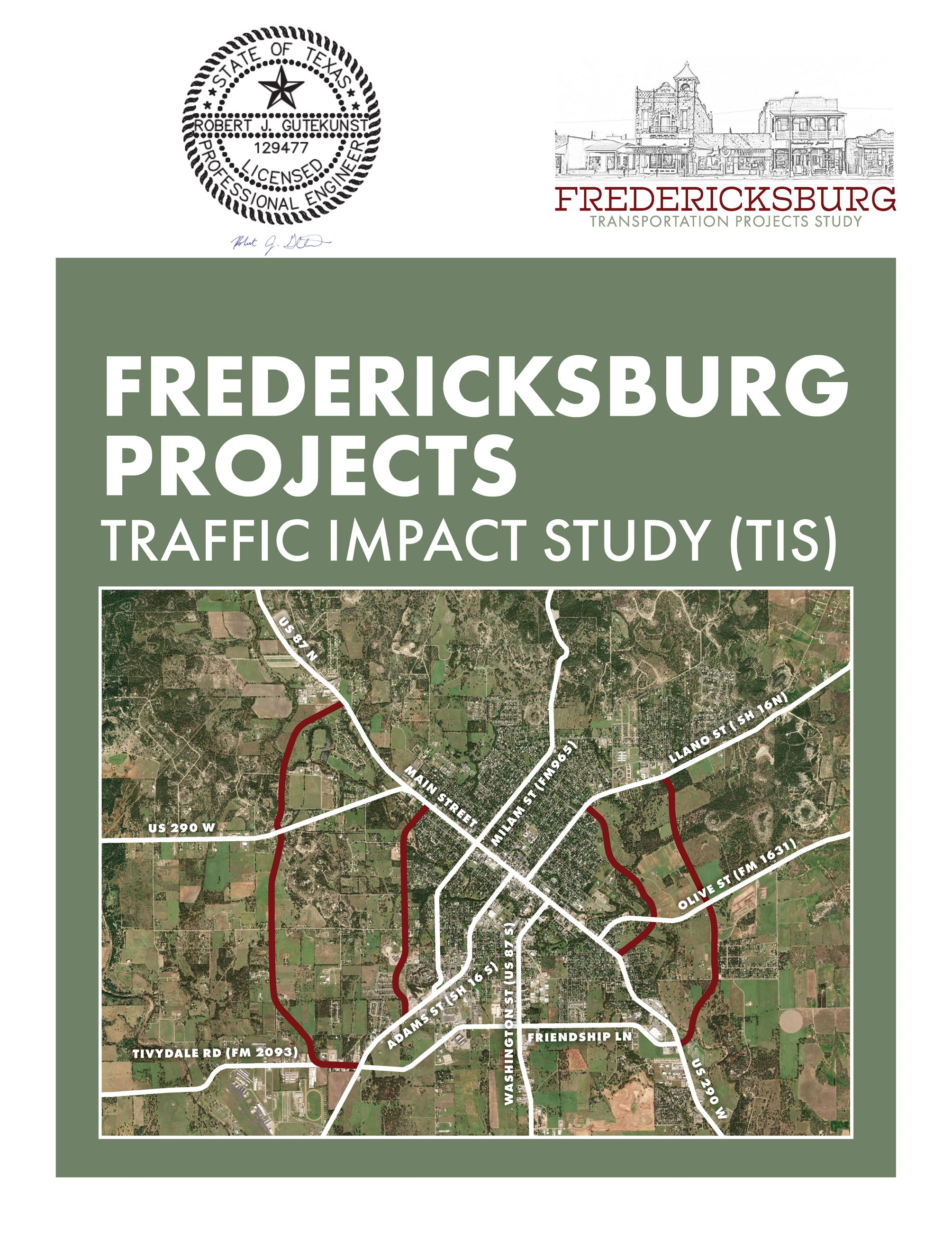Traffic Impact Study - Cover Opens in new window
